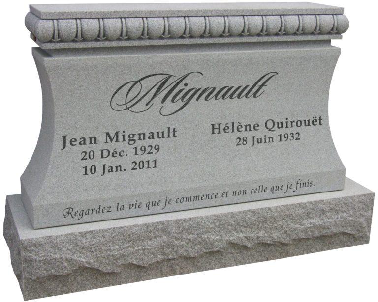 Cremation Monument Pillar