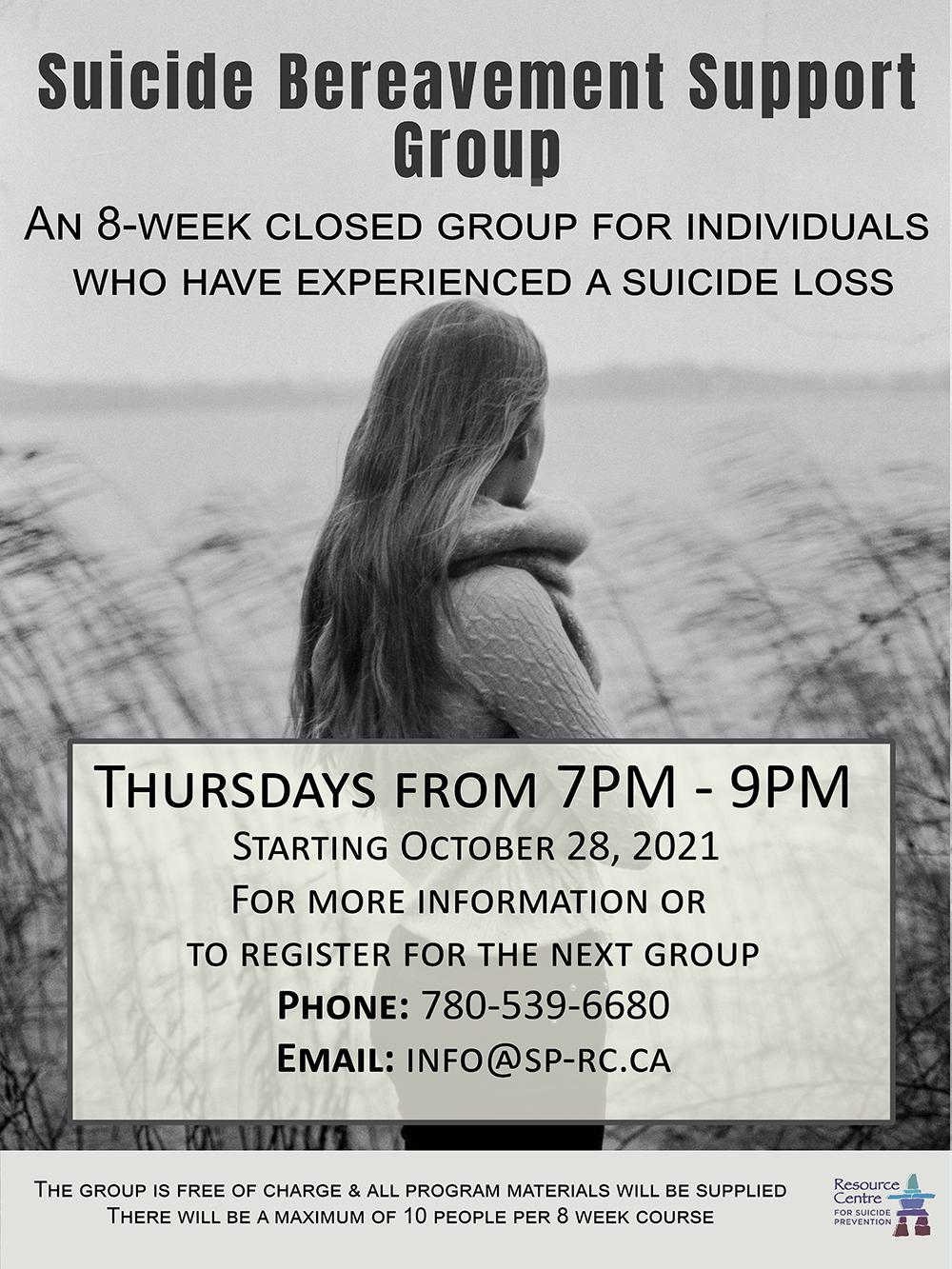 Suicide Bereavement Support Group Grande Prairie